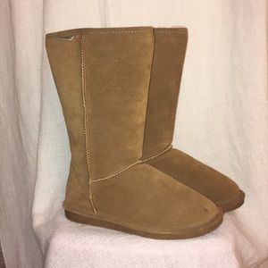 Bearpaw Women's Emma Tall tan boot